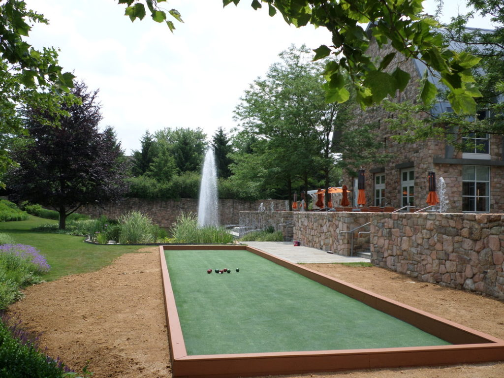 Bocce Court in Lancaster County, PA